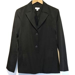 Vtg BCBG blazer sz 8 slash pockets
